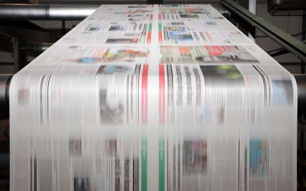 печать газет А2