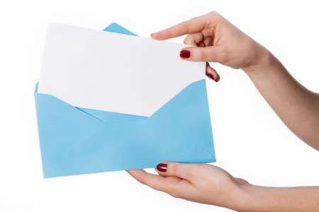 """Цифровая печать персональных конвертов в мини-типографии """"Гарант"""""""