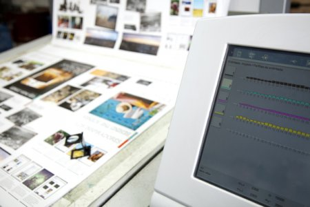 Дизайн в допечатной подготовке